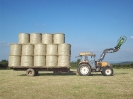 Bales loaded