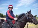 Stable apprentice Ian Queally